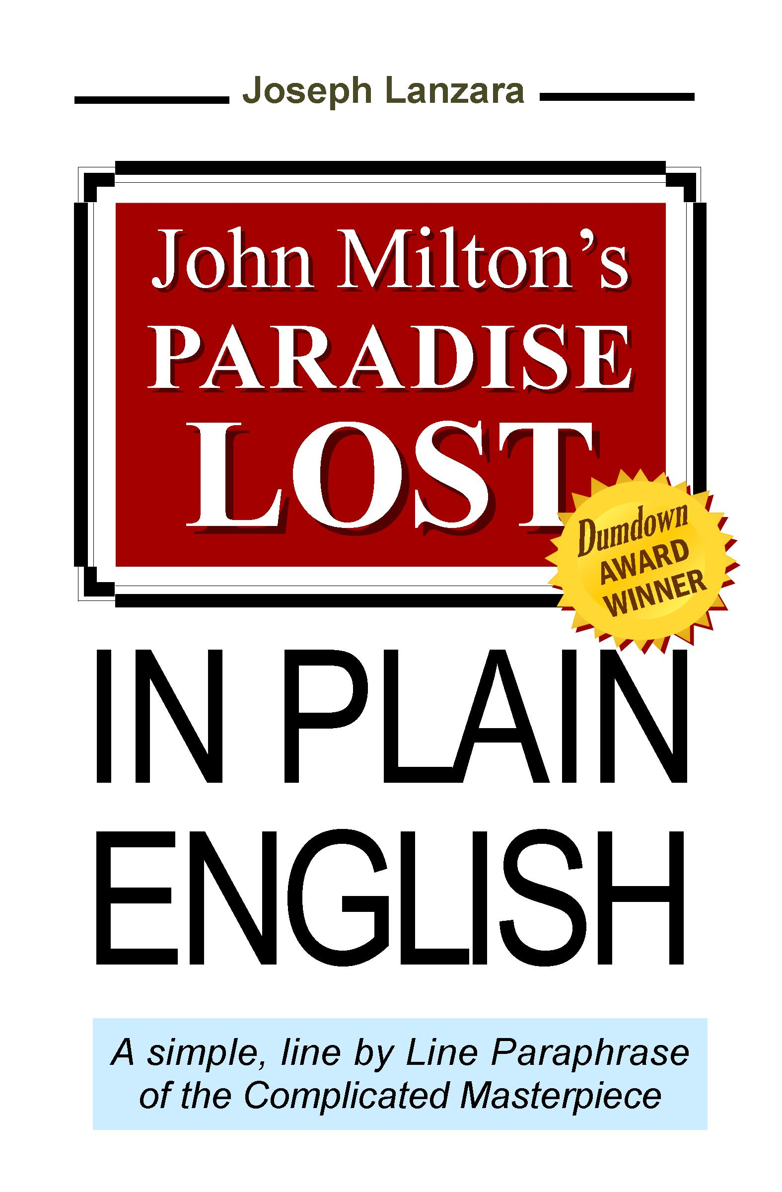 Paradise Lost In Plain English